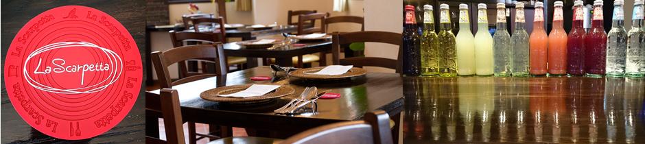 米沢市駅前にあるイタリアンレストラン「ラ・スカルペッタ」。お気軽にご利用下さいませ。